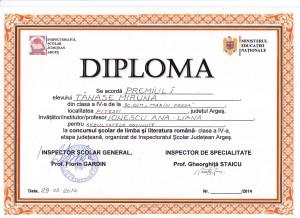 Diploma Miruna Tanase - L.L.Romana-page-0