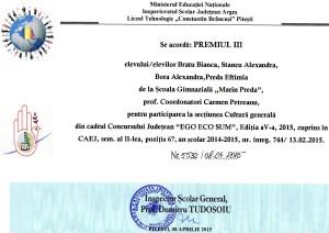 premiul III
