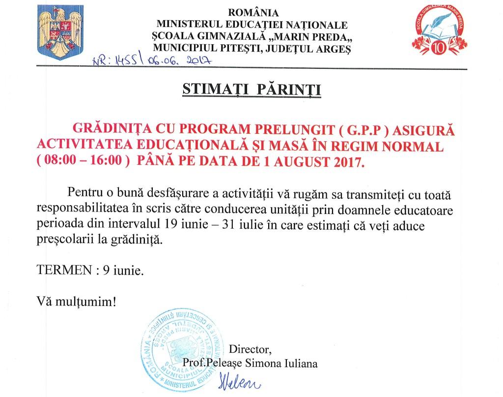 ANUNT GPP