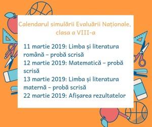 calendar_simulare_evaluarea_nationala_2019