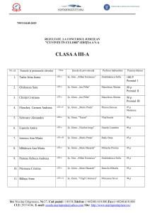 clasa a III-a-1