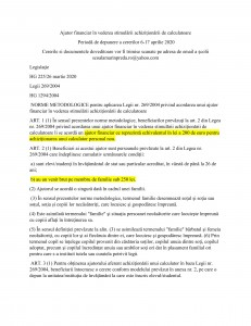 Ajutor financiar Euro 200-1